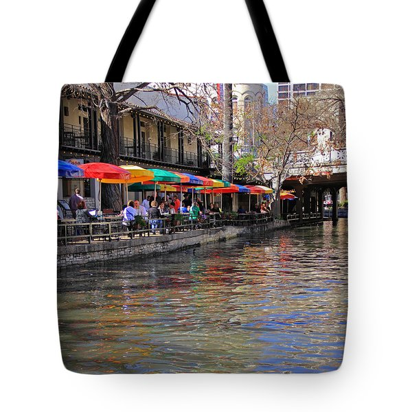 San Antonio Riverwalk Tote Bag