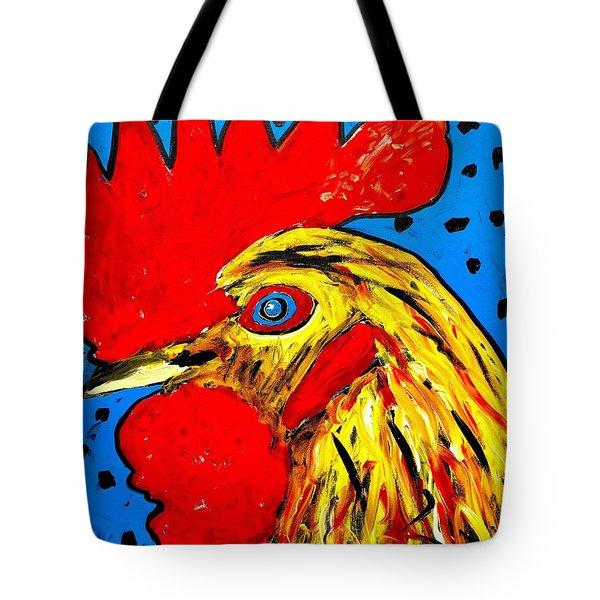 San Antonio Rooster Tote Bag