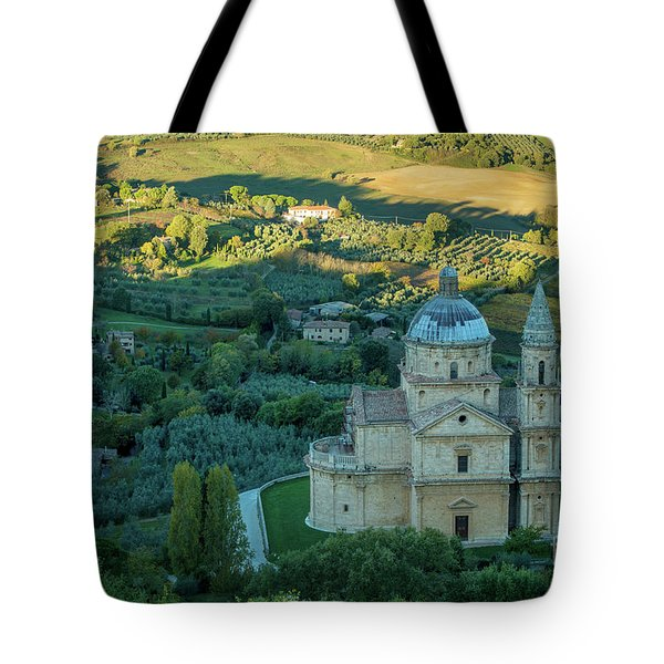 Tote Bag featuring the photograph San Biagio Church by Brian Jannsen
