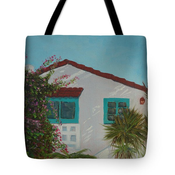 San Clemente Art Supply Tote Bag