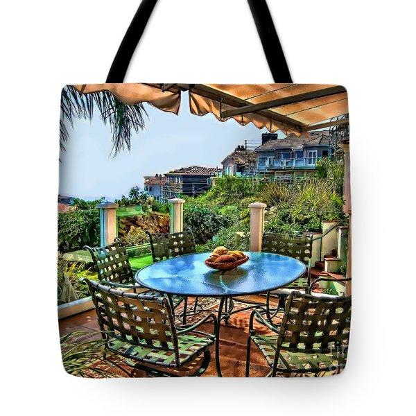 San Clemente Estate Patio Tote Bag