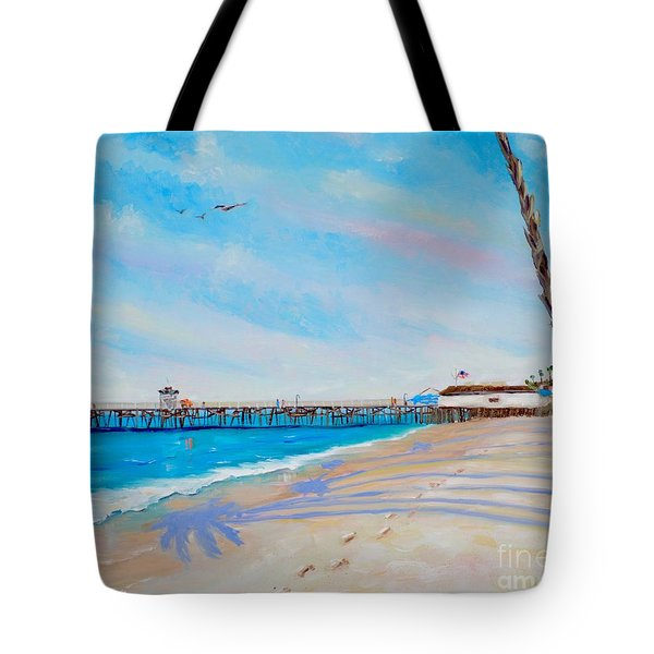 San Clemente Walk Tote Bag