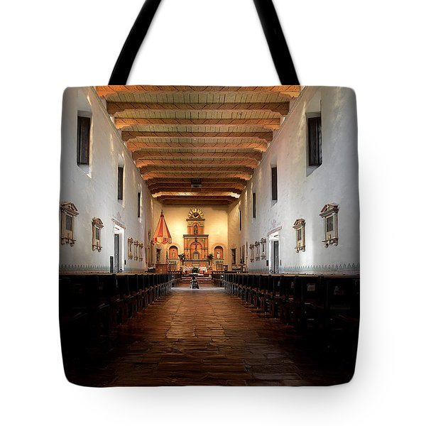 Tote Bag featuring the photograph San Diego De Alcala by Christine Till