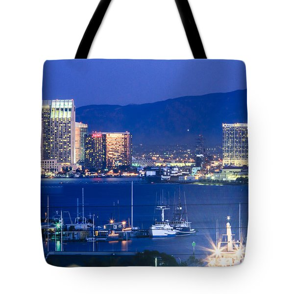San Diego Harbor Tote Bag