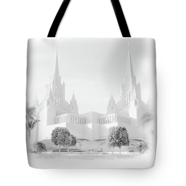 San Diego Lds Temple Tote Bag