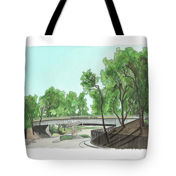 San Diego Recruit Depot Welcome Tote Bag