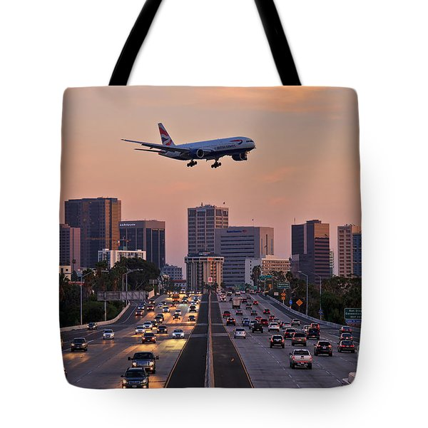 San Diego Rush Hour  Tote Bag