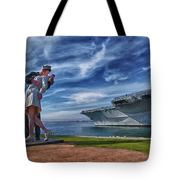 San Diego Sailor Tote Bag