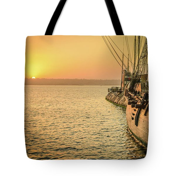 San Diego Sunset Tote Bag