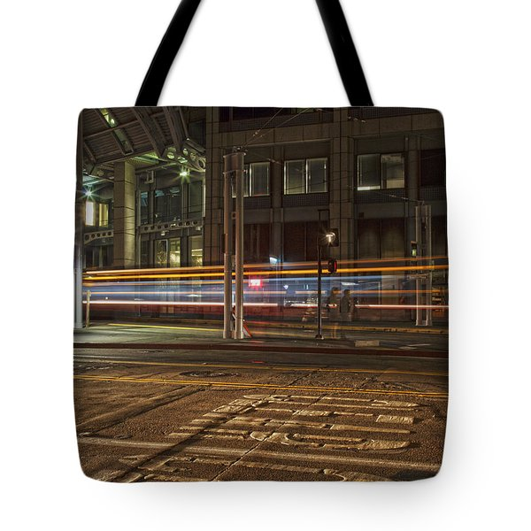 San Diego Trolly Tote Bag