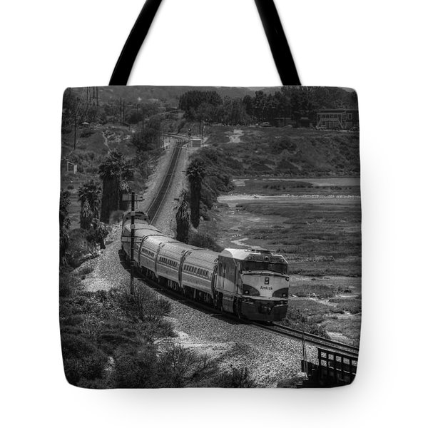 San Elijo Amtrak Tote Bag