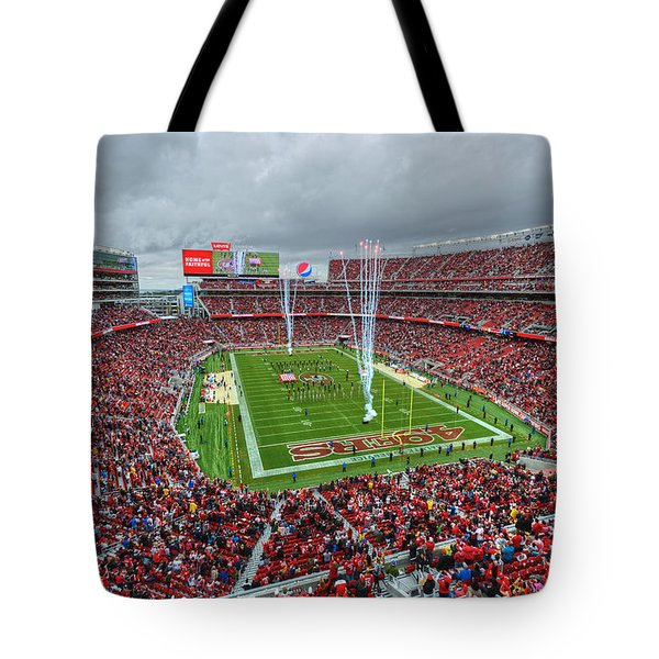 San Francisco 49ers Levi's Stadium Tote Bag