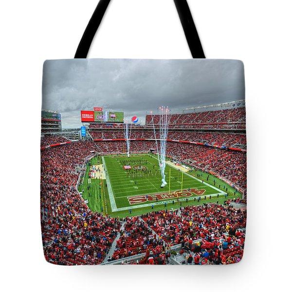 San Francisco 49ers Levi's Stadium Tote Bag