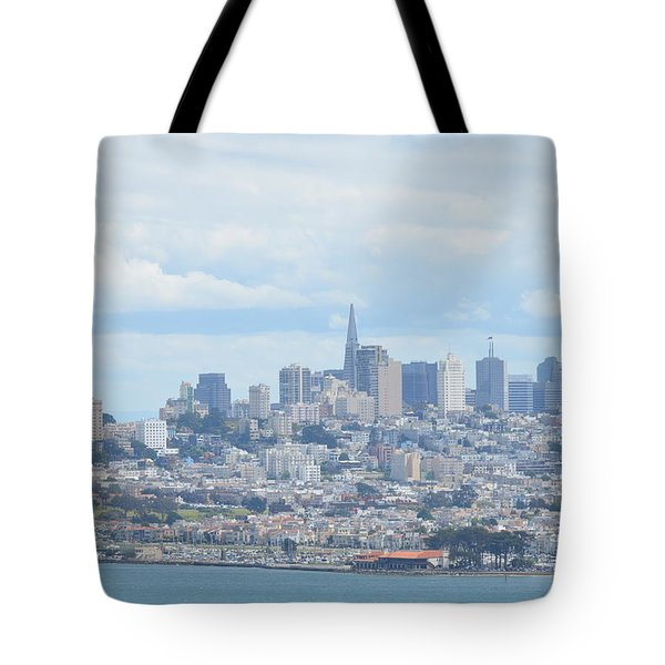 Tote Bag featuring the photograph San Francisco by Alex King