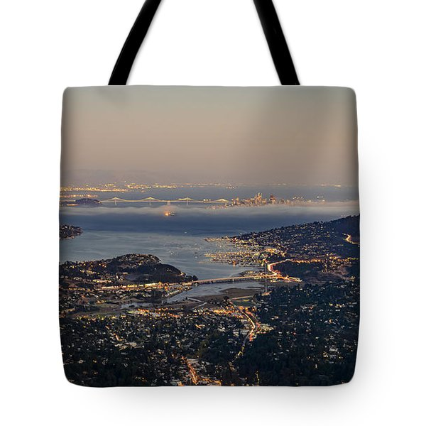 San Francisco Bay Area Tote Bag
