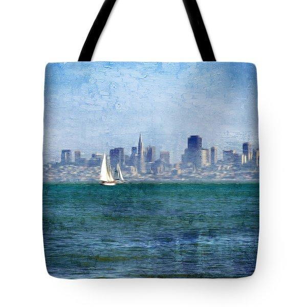 San Francisco Bay Tote Bag by Serena King