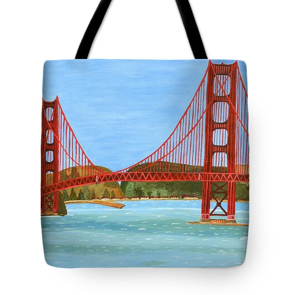 San Francisco Bridge  Tote Bag