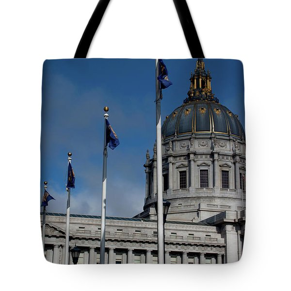 San Francisco City Hall Tote Bag