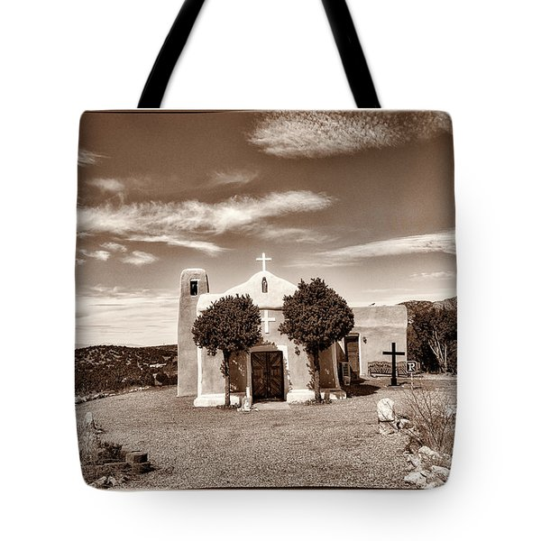 San Francisco De Asis  Est 1839 Tote Bag