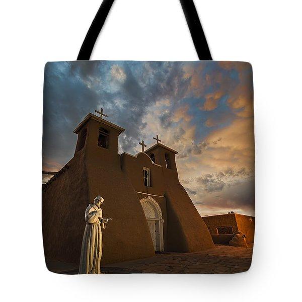 San Francisco De Assisi Mission Tote Bag