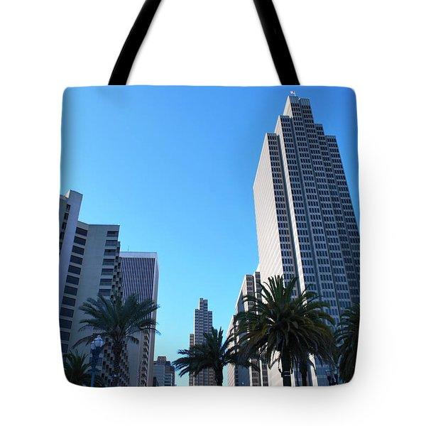 San Francisco Embarcadero Center Tote Bag by Matt Harang