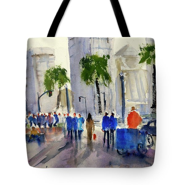 San Francisco Embarcadero Tote Bag