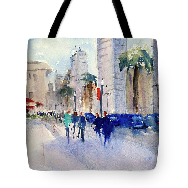 San Francisco Embarcadero1 Tote Bag