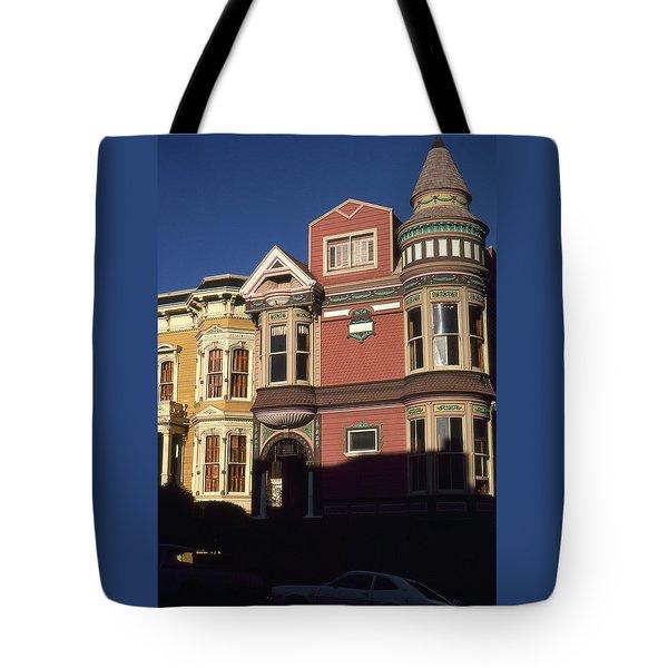 San Francisco Haight Ashbury - Photo Art Tote Bag