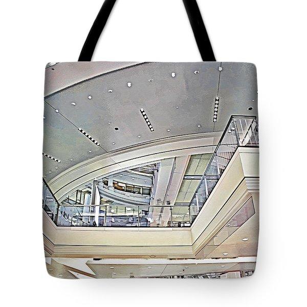 San Francisco Mall 3 Tote Bag