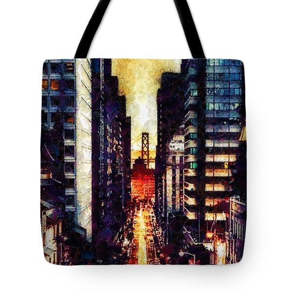 San Francisco Tote Bag by Mo T