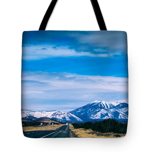 San Francisco Mountain Tote Bag