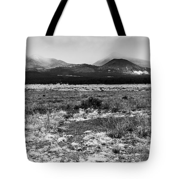 San Francisco Mountains 2 Tote Bag