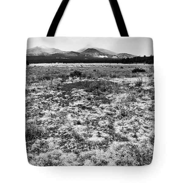 San Francisco Mountains Arizona Tote Bag