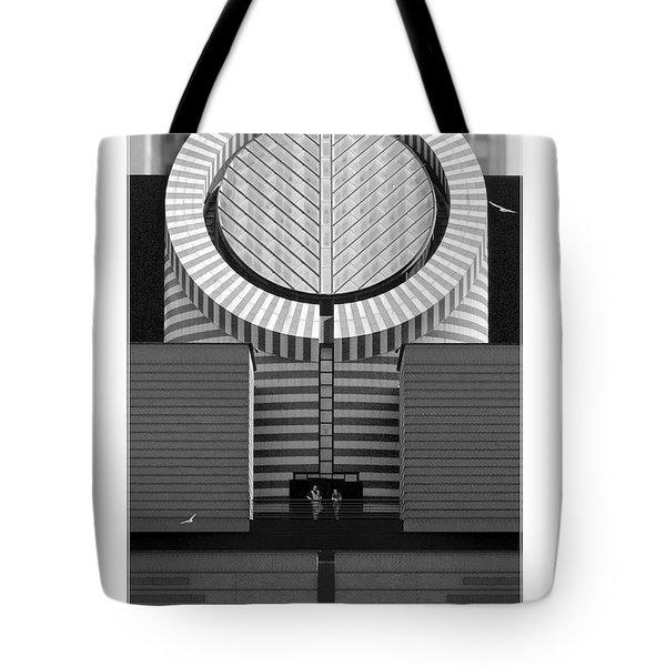 San Francisco Museum Of Modern Art Tote Bag by Mike McGlothlen