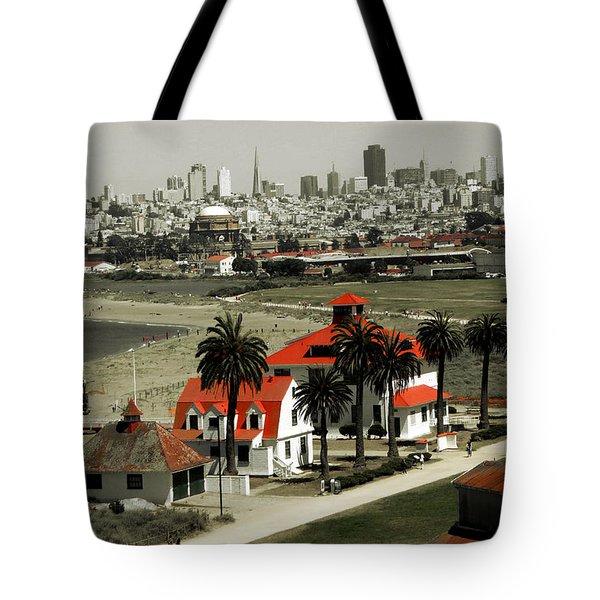 San Francisco Panorama 2015 Tote Bag