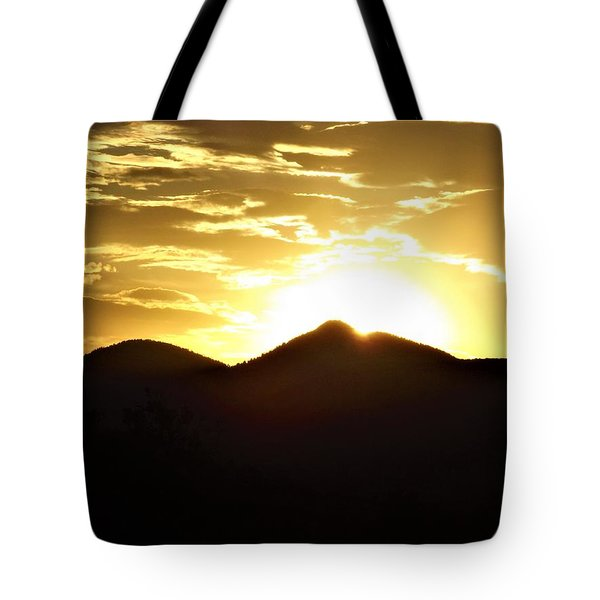 San Francisco Peaks At Sunset Tote Bag
