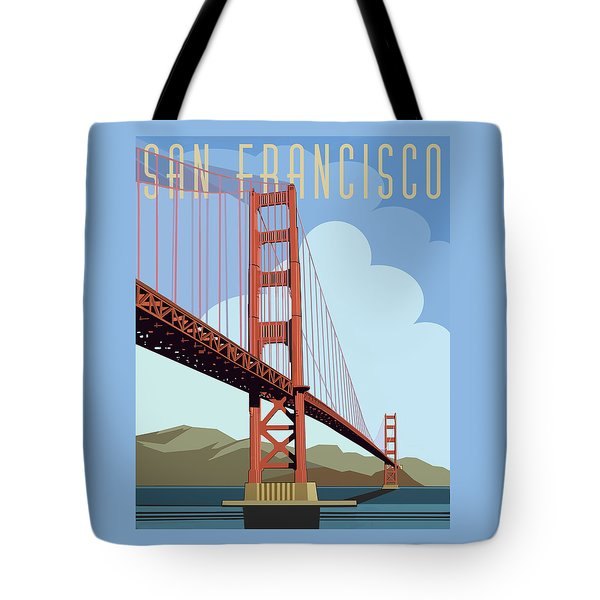 San Francisco Poster  Tote Bag