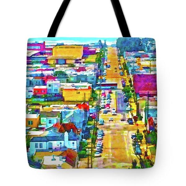 San Francisco Quintara View Tote Bag