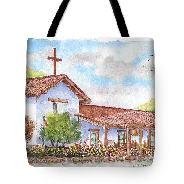San Francisco Solano Mission, Sonoma, California Tote Bag