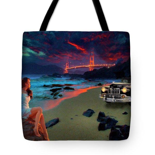San Francisco Sunrise Tote Bag
