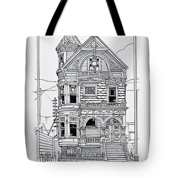 San Francisco Victorians  Tote Bag