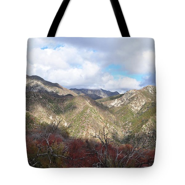 San Gabriel Mountains National Monument Tote Bag by Kyle Hanson