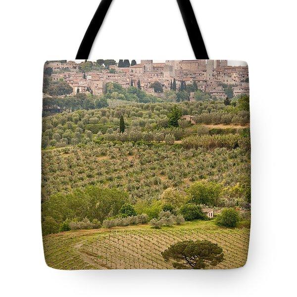 San Gimignano II Tote Bag