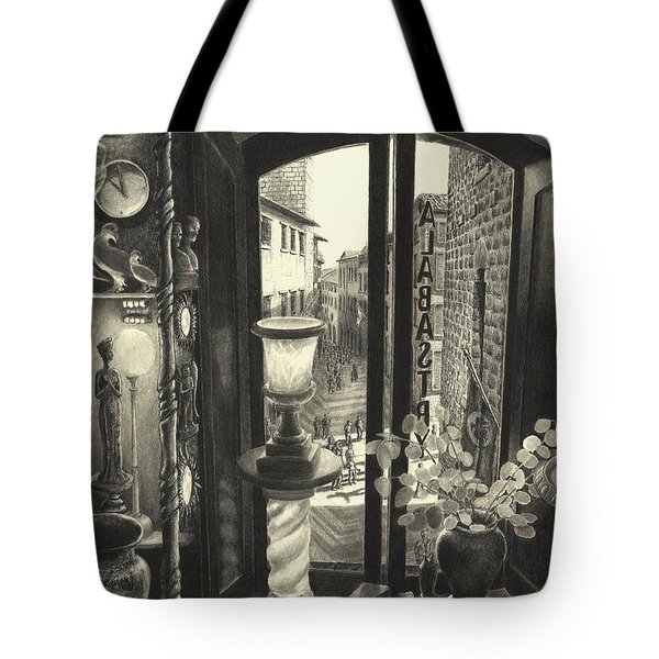 San Gimignano Tote Bag by Norman Bean