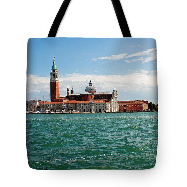 San Giorgio Maggiore Canal Shot Tote Bag by Robert Moss
