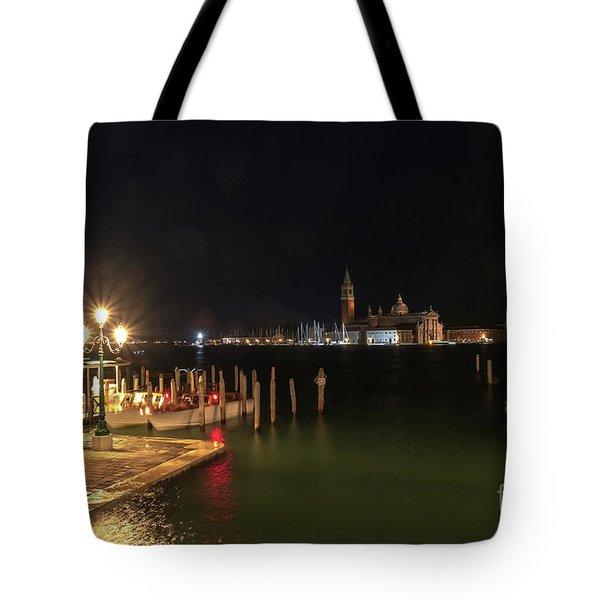 San Giorgio Maggiori At Night Tote Bag