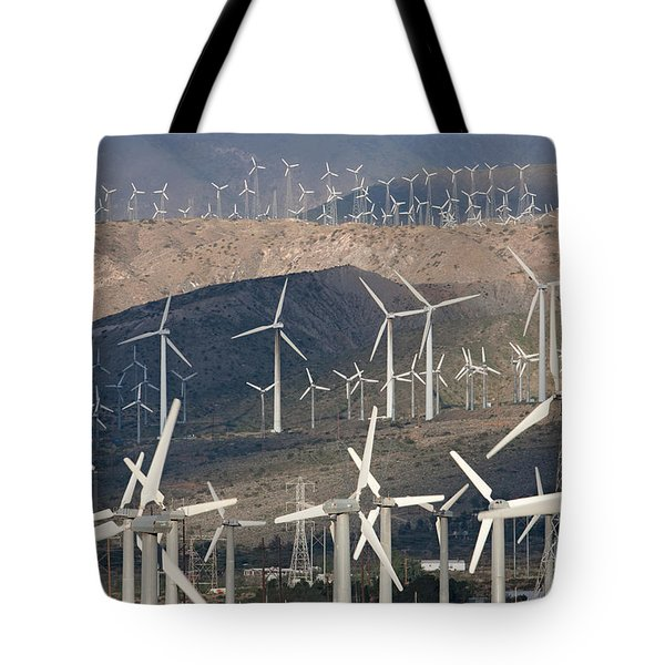 San Gorgonio Pass Wind Farm I Tote Bag
