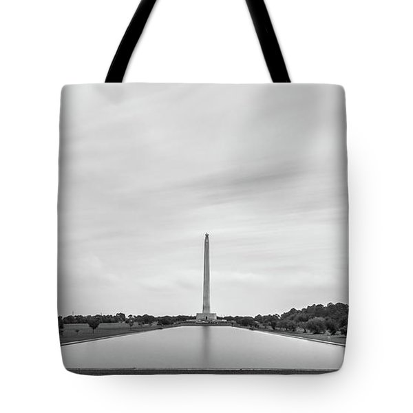 San Jacinto Monument Long Exposure Tote Bag