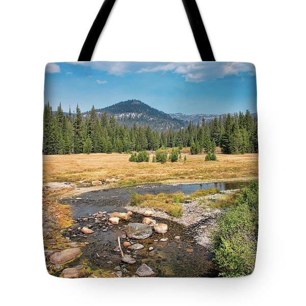 San Joaquin River Scene Tote Bag