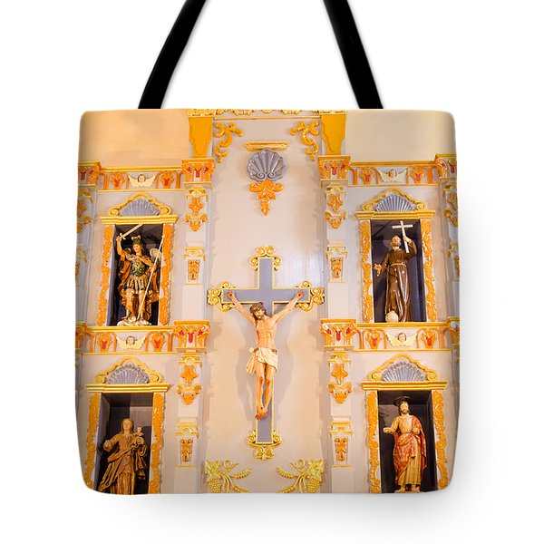 San Jose Chapel Tote Bag